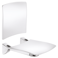 510434-Lift-up Comfort shower seat with backrest