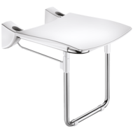 510430-Lift-up Comfort shower seat with leg