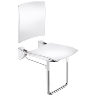 510436-Lift-up Comfort shower seat with leg and backrest
