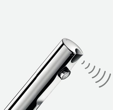 - Инфракрасный детектор присутствия:Сенсорная арматура DELABIE не требует усилий пациента во время использования. Автоматическое открытие и закрыти...